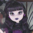 Monster High doll - Frights Camera Action Elissabat Hauntlywood vampire monster