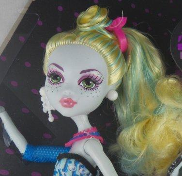Monster High Dot Dead Gorgeous Lagoona Blue doll daughter of the sea monster