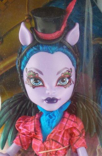 Monster High Freaky Fusions Avea Trogger hybrid of a centaur and harpy doll