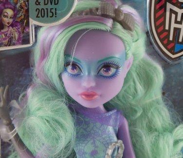 Monster High doll Haunted Getting Ghostly Twyla