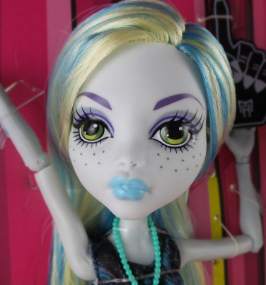 Monster High ONE (1) Loose Lagoona Blue doll We Are #1 Student Disembody Council