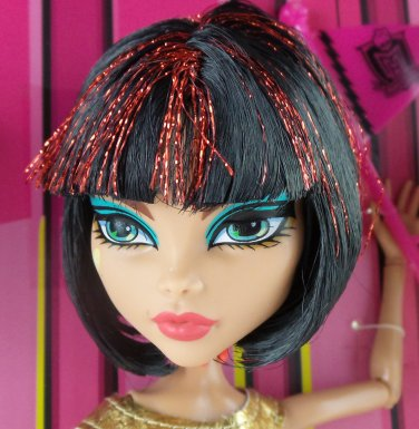 Monster High ONE (1) Loose Cleo De Nile doll We Are #1 Student Disembody Council