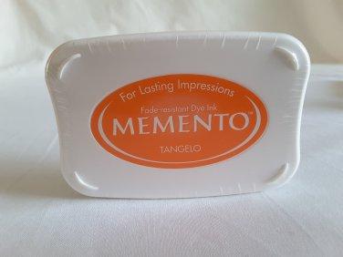 Memento - Tangelo Orange Fade Resistant dye ink pad ME-200 by Tsukineko