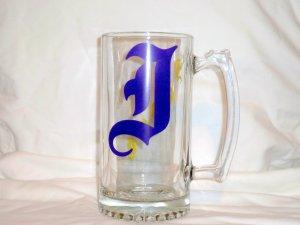 Initial Beer Mug - Male