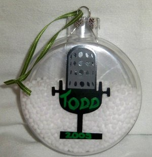 DJ Mike Ornament