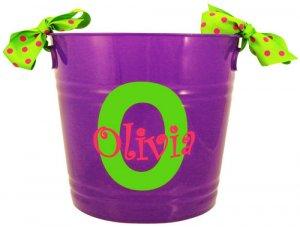 "10"" Purple Party Bucket"