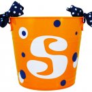 "10"" Orange Party Bucket"