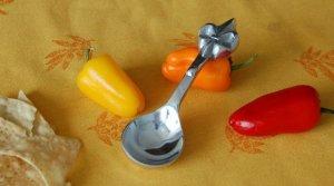Fleur De Lis Dip Spoon