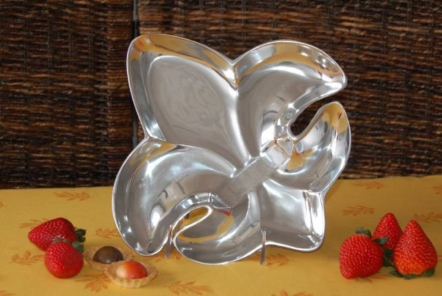 Fleur De Lis Shaped Small Tray