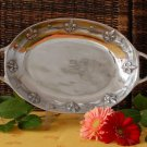 "Fleur De Lis Large Oval Vegetable Dish  Dimensions: 18.5"" X 10.5"" X 2.5"""