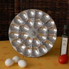 Fleur De Lis Twp Dozen Egg Plate