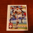 2006 Upper Deck First Pitch Mike Mussina