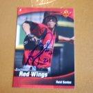 2009 Choice Red Wings Reid Santos