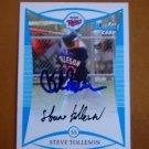 2008 Bowman Prospects Steve Tolleson