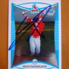 2008 Bowman Prospects Chrome Sean Danielson