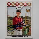 2008 Topps Series 1 Josh Anderson