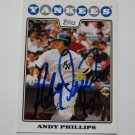 2008 Topps Series 1 Andy Phillips