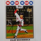 2008 Topps Series 1 Clay Buchholz