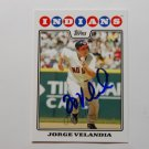 2008 Topps Update Jorge Velandia