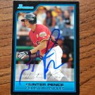 2006 Bowman Draft Picks and Prospects Hunter Pence Autograph
