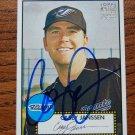 2006 Topps '52 Casey Janssen Autograph