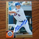 2009 Upper Deck First Edition Nick Evans Autograph
