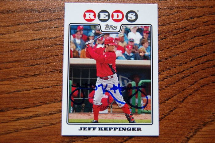 2008 Topps Series 2 Jeff Keppinger Autograph