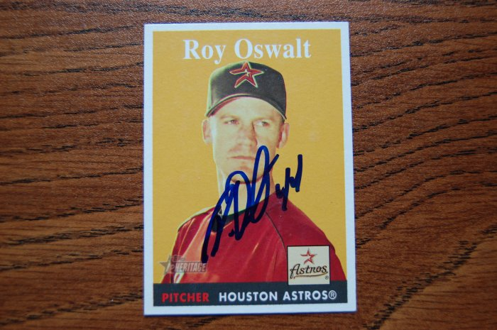 2006 Topps Heritage Roy Oswalt Autograph