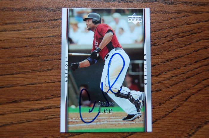 2007 Upper Deck Series 2 Carlos Lee Autograph