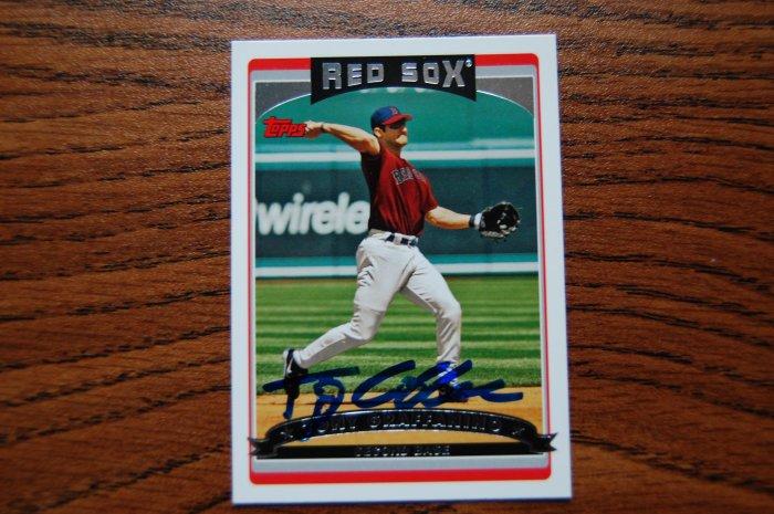 2006 Topps Series 1 Tony Graffanino Autograph