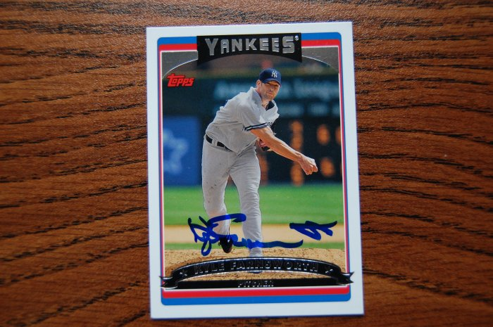 2006 Topps Series 1 Kyle Farnsworth Autograph