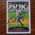 2006 Topps Series 1 Kevin Mench Autograph