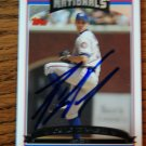2006 Topps Update Ryan Wagner Autograph