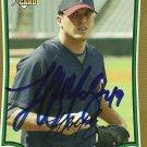 2009 Bowman Draft Gold Jeff Manship Autograph