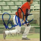 2004 Bowman Brock Peterson Autograph
