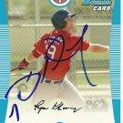 2008 Bowman Ryan Khoury Autograph