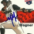 2008 Tristar Projections Mark Wagner Autograph