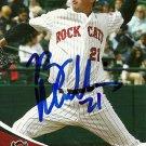 2009 Grandstand Rock Cats Ryan Mullins Autograph