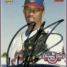 2006 Topps Opening Day Fausto Carmona Autograph