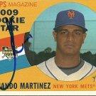 2009 Topps Heritage High Series Short Print Fernando Martinez Autograph