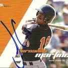 2008 Just Autographs Fernando Martinez Autograph