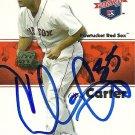 2008 Tristar Projections Chris Carter Autograph