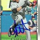 2007 Upper Deck Series 1 Alex Cintron Autograph