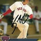 2007 Choice International League Top Prospects Brandon Moss Autograph