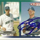 2005 Topps Total Mike Morse/Bobby Livingston Autograph