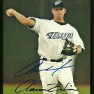 2007 Topps Series 2 Red Back Aaron Hill Autograph