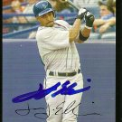 2007 Topps Update Red Back Jason Ellison Autograph