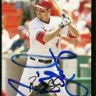 2007 Topps Update Ryan Langerhans Autograph
