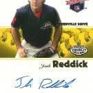 2008 TriStar Projections Yellow Josh Reddick Autograph