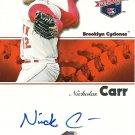 2008 TriStar Projections Nick Carr Autograph